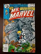 Ms. Marvel 21 1978 Land of the Lizard People See pictures