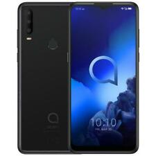 "Alcatel 3X 2019 6.52"" 4G 128 GB ROM + 6 GB RAM Octa-Core Jewelry Black Versione"
