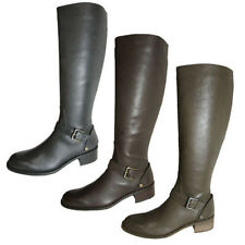 Leather Solid Cowboy, Western Boots for Women
