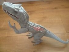 HASBRO JURASSIC WORLD ACTION FIGURE 2014 HUGE INDOMINUS REX CHOMPING ROARING
