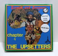 """Scratch And Company THE UPSETTERS Chapter 1 COLOR VINYL 3x10"""" BOX SET Sealed RSD"""