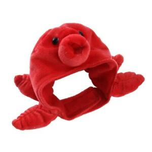 Cute Cat Hat Funny Small Dog Red Octopus Headwear Pet Holiday Accessories