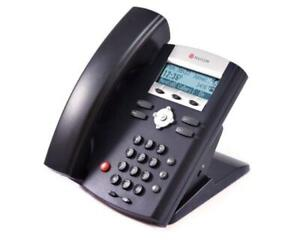 Ring Central Polycom Soundpoint IP 321 335 VOIP Telephone Business Phone