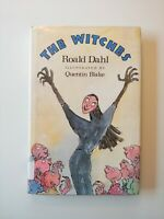First Edition THE WITCHES Roald Dahl Illustrated Hardcover Edition
