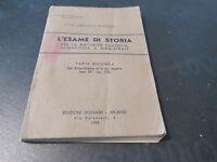 Bignami Vintage - L'Examen Por Storia - Parte Segunda 1958