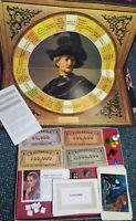 Vintage 1970 MASTERPIECE The Art Auction Board Game 99.9% Complete, PLEASE READ