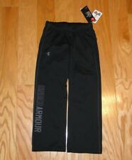 Under Armour Sweatpants NWT Size YXS Black Girl's Cold Gear Rival Training Loose