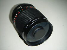Lovely Clean Canon EOS fit Centon 500mm Mirror Lens  , Takes T2 mounts