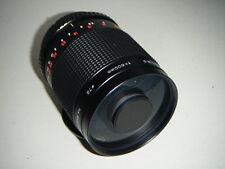 Precioso limpio Canon EOS Fit Centon 500mm lente de espejo, toma T2 se monta
