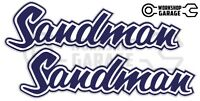 Holden HQ - HJ -  SANDMAN PURPLE XX Large Decal  - Stickers