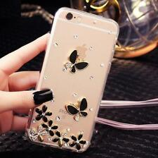 Custom-made Jewelled Bling Crystal Diamonds Soft Gel TPU Phone back Case Cover12