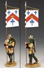 KING & COUNTRY MEDIEVAL KNIGHTS & SARACENS MK094 MARCHING BANNERMAN MIB
