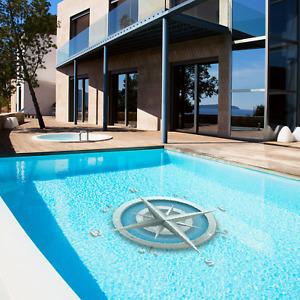 Windrosen - für echte Seemänner! Poolaufkleber, Pool-Design WINDROSE 13