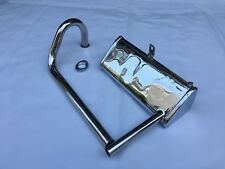 Honda CZ100 excellent reproduction Muffler exhaust pipe