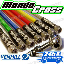 tubo freno treccia Anteriore colore trasparente HONDA CRF 450 X 2012 (12)