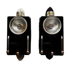 DDR Taschenlampe Signallampe VEB NARVA ARTAS NVA Typ 2234 schwarz glänzend