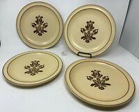 "Pfaltzgraff USA ""Village"" Set of 4 Dinner Plates - 10 3/8"" Diameter - Nice!"