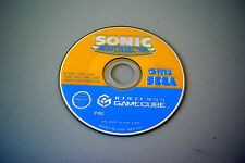Jeu SONIC MEGA COLLECTION sur Nintendo Game Cube GC (CD SEUL, remis à neuf)