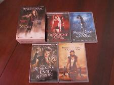 RESIDENT EVIL - Coffret DVD des 4 premiers films