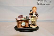 Hummel Goebel figurines- Just Business (original box) 2003 Special Edition