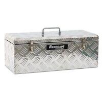Renegade Industrial Small Tote Aluminium Tool Box