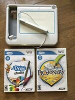 Nintendo Wii uDraw Game Tablet Plus uDraw Studio and Pictionary #7201