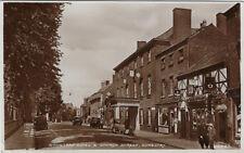 OSWESTRY ( Shropshire) : Wynnstay Hotel & Church Street RP-CLEVELAND series