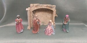 1989 Avon O Holy Night Nativity Collection  - Partial Set/ Replacements Lot of 5