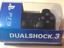 MANETTE PS3 BLACK dualshock 3 sony WIRELESS CONTROLLER SOUS BLISTER SEALED NEUF