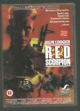 RED SCORPION - Dolph Lundgren - UK DVD - (vgc - new/unsealed)