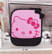 New Cute For Hello Kitty PC Laptop Computer Mouse Pad Mat Black