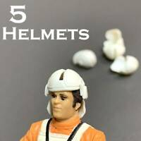 Lot 5 Helmets For 3.75'' Star wars Battle droid Figures Toy The Clone Trooper #K