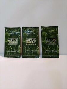 3xStar Wars CCG SWCCG Dagobah booster sealed pack limited