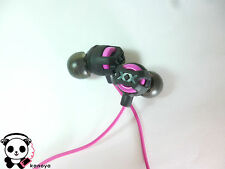 JVC HA-FR201-P Earbuds Headphones Xtreme Xplosives with Microphone-Pink