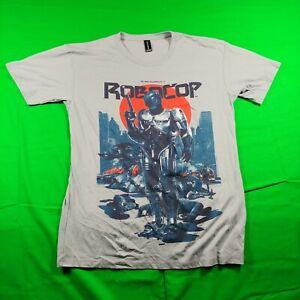 RoboCop LootCrate Alex Murphy Movie Graphic Tee T-Shirt Size Medium Short Sleeve