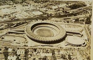Maracana Stadium original Postcard football soccer 1950 Brasil Uruguay