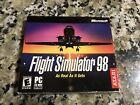 Microsoft/atari Flight Simulator 98 (pc, 1997) Sealed Vintage Computer Game