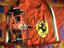 RED SCUDERIA FERRARI SCARF LICENSED PRECISPORT F1 FORMULA 1 RACING MADE IN SPAIN