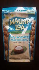 Hawaii Dry Roasted Mauna Loa Macadamia Nuts with Sea Salt - 10 oz