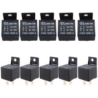 Lot10 Car Truck Auto Automotive 12V 40A 40 AMP SPST Relay Relays 4 Pin 4P HC