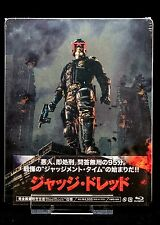 Dredd Limited Edition Blu Ray Steelbook Japan *New Sealed*