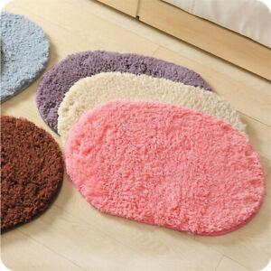 Coral Velvet Bathroom Water Absorption Carpet Floor Carpets Plush Floor Mats