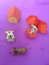 Vintage Mc Donalds Disney LADY AND THE TRAMP Set of 4