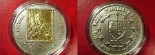 1992 Andorra Large .917 Gold/.925 Silver 20 Diners Charlemagne HolyRoman Emperor
