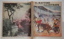1929 Corrida in motocicletta Dino Martens Lava Vesuvio su Terzigno Campetiello