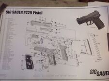 SIG Sauer 229 Poster  - Parts Schematic Poster
