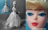Wedding Day Barbie Doll 1960 Fashion Reproduction 1996 Blonde Bride Collector