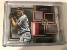 STEPHEN STRASBURG 2020 Topps Museum Quad 4 color PatcH 65/99