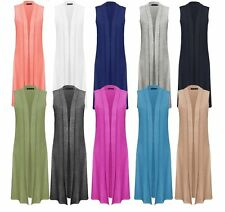 Viscose Long Jumpers & Cardigans for Women's Sleeveless