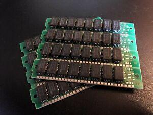 8x 256KB 30-Pin 120ns (80ns cert) 8-Chip Non-Parity Memory SIMMs 2MB RAM PC UNIX